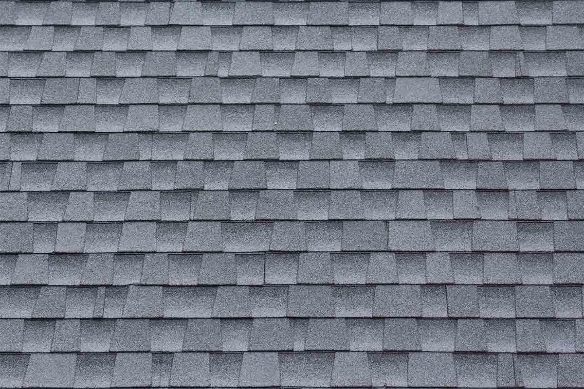gray achitectural shingles