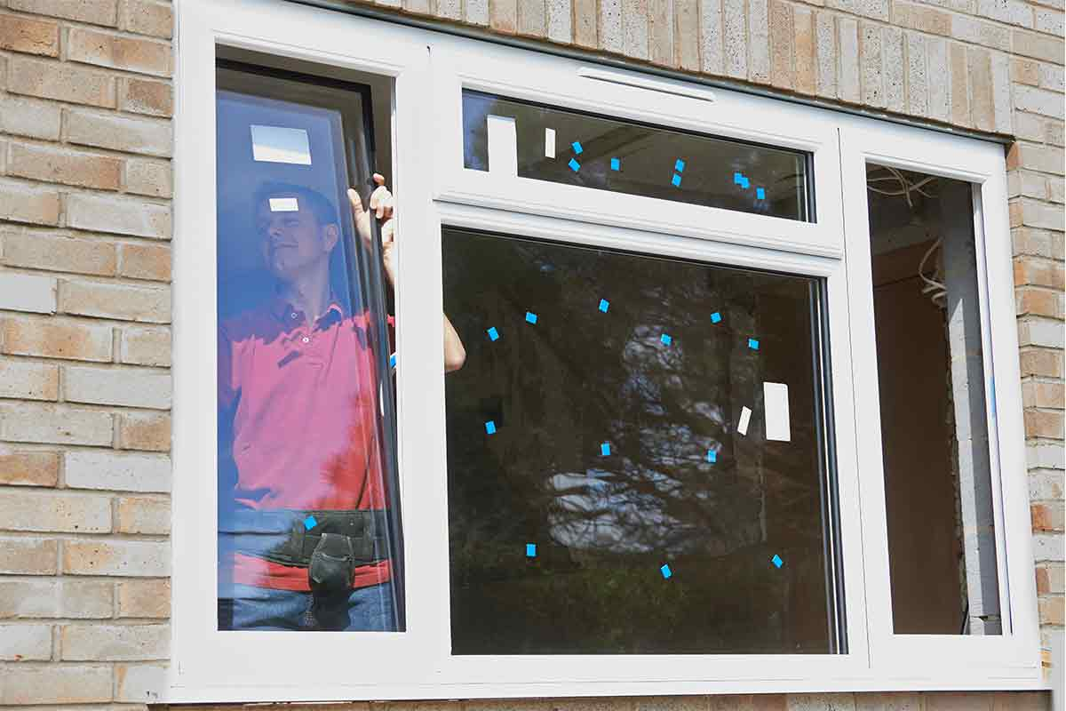 professional window installer