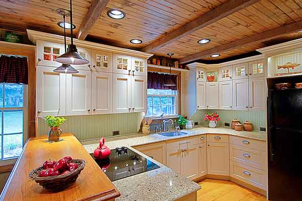 Remodeled historic home kitchen