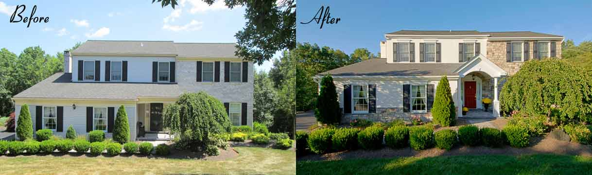 before and after curb appeal inspiration best pick reports