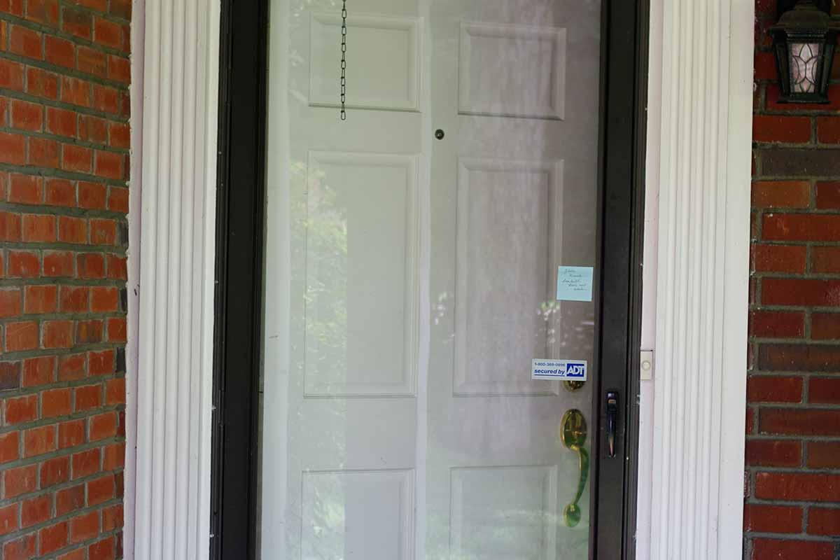 residential storm door
