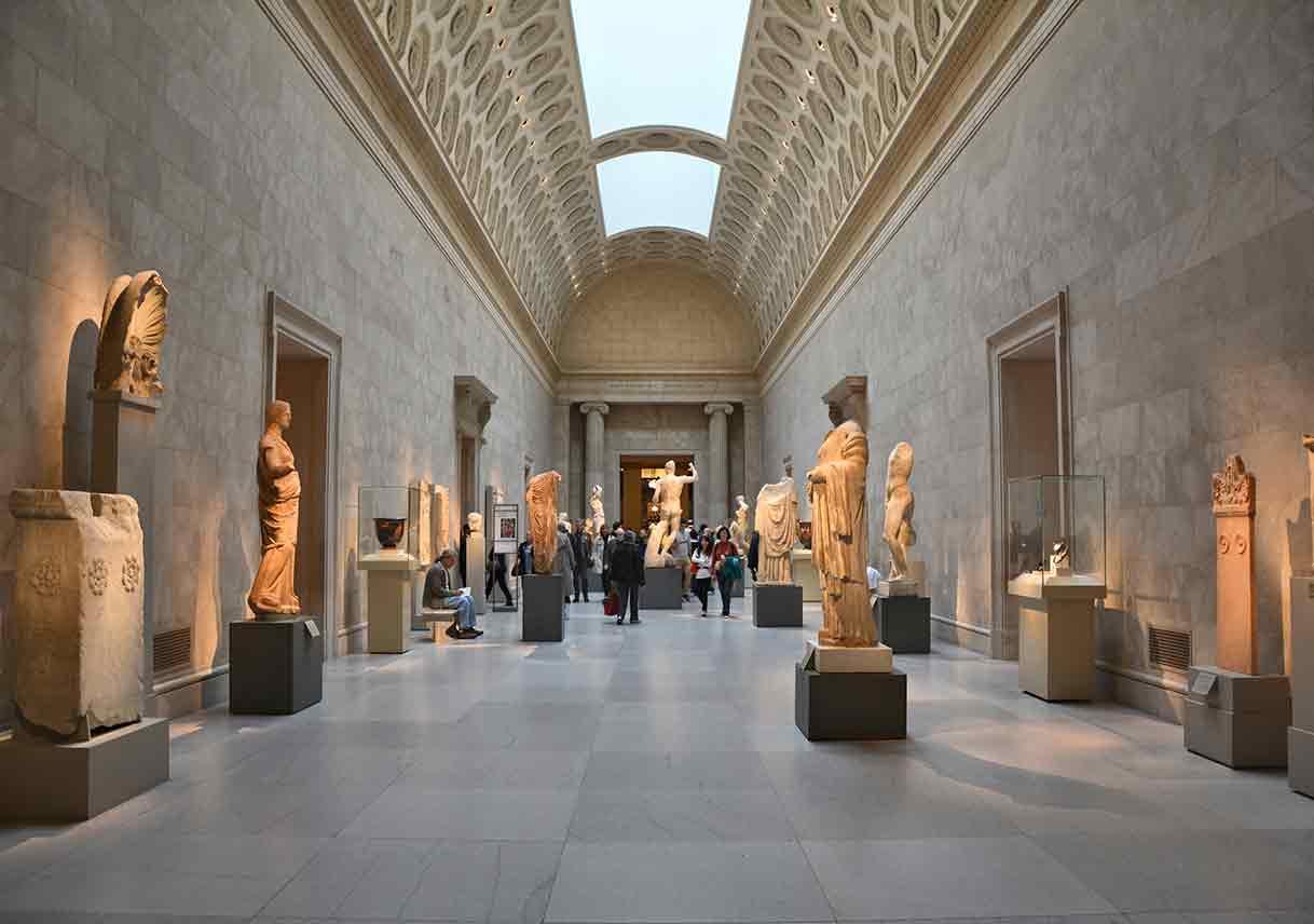 Greek art exhibit at Metropolitan Museum of Art