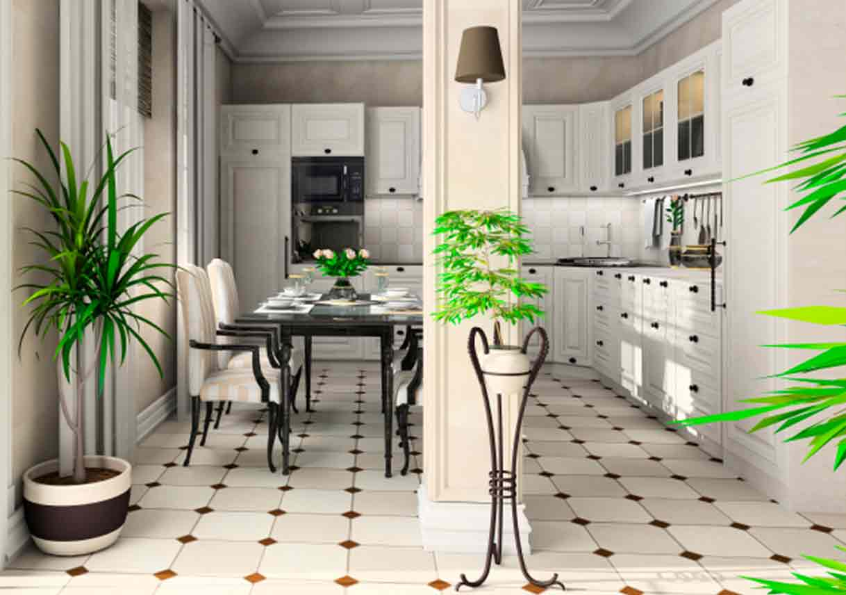 Choosing Between Ceramic Tile And Natural Stone Flooring Best Pick - Best flooring for entire house