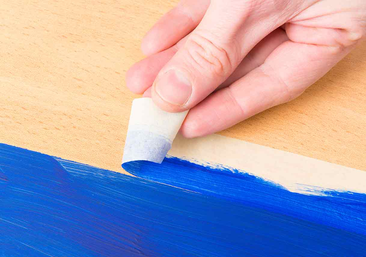 6 Painting Hacks With Tape
