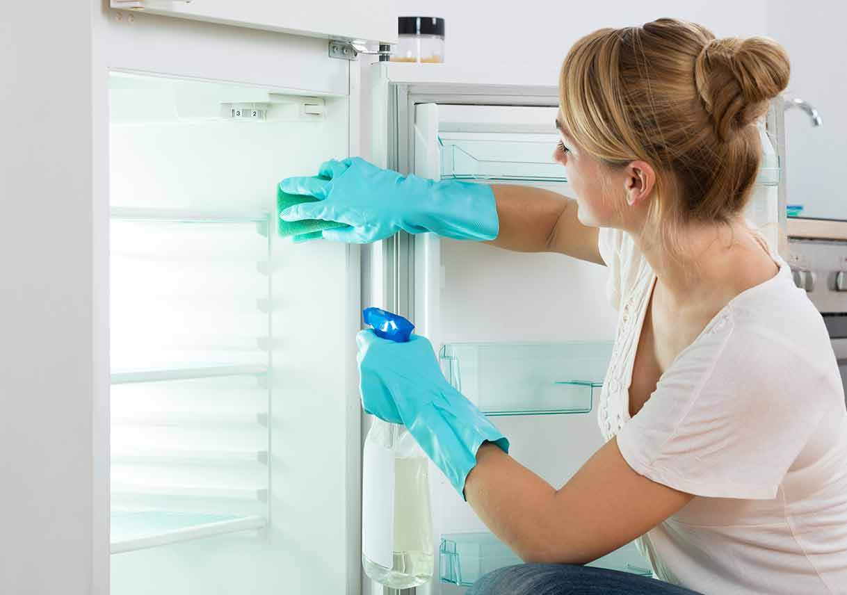 Image result for cleaning fridge