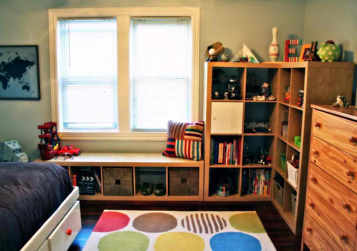 Bedroom Shelf Storage Ideas