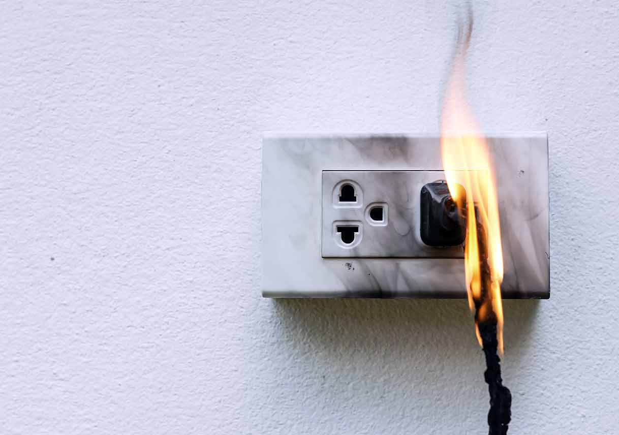 Maintaining Electrical Safety In The Home Best Pick Reports Inspection Overheated Wiring Avoid Disaster